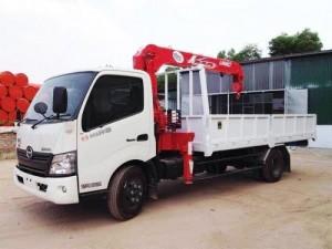 Xe tải Hino gắn cẩu UNIC 290