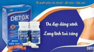 Giảm Cân Detox Slimming Capsules