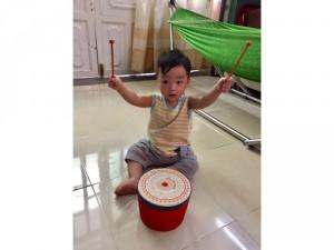 Trống múa lân mini trẻ em