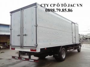 Xe tải JAC 8T sự lựa chọn tốt nhất- thùng dài 7m3