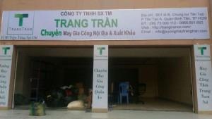 Xưởng may gia công Trang Trần TPHCM