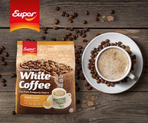 Cà phê trắng Super Brown Sugar