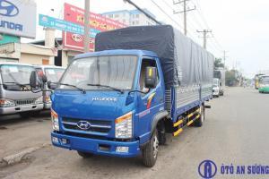 Xe tải Hyundai 1T9 thùng siêu dài 6m2