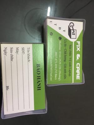 Nhận thiết kế và in namecard , in càng nhiều giá càng rẻ.