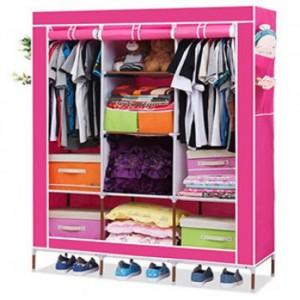 Tủ vải bao gồm 8 ngăn, 3 buồng rộng rãi giúp bạn sắp xếp bảo quản quần áo gọn gàng giữ cho không gian sống thêm ngăn nắp, khoa học.
