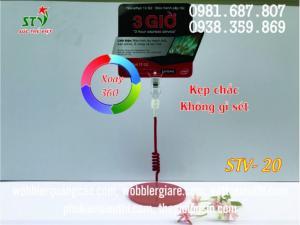 wobbler để bàn Hà Nội, cung cấp wobbler quảng cáo Hà Nội, bán kẹp quảng cáo tại Hà Nội,