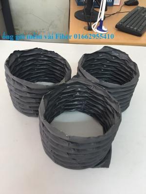 Ống gió mềm vải Hàn Quốc Tarpaulin , Fiber D75,D100,D125,D150,D175,D200,D250.D300...D450,D500