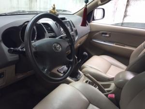 Nhà mình cần bán xe Toyota Fortuner G 2010 số sàn máy xe chạy nhiên liệu dầu