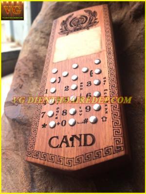 Vỏ gỗ CAND