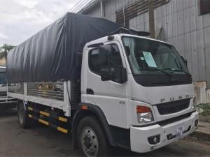 Xe tải fuso 7,3 tấn thùng mui bạt