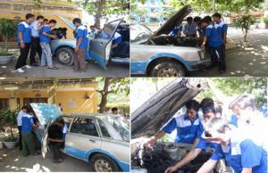 Trường dạy nghề sửa chữa ô tô tặng ngay khoá học lái xe B2 miễn phí