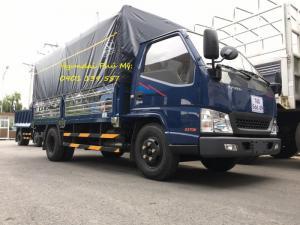 Xe tải vào thành phố iz49 thùng mui phủ