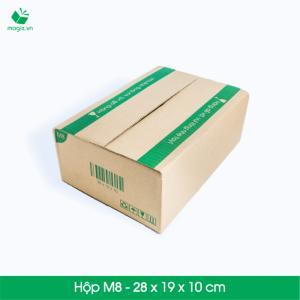 MCO1 - Size 19x7x7 cm- Hộp Carton đóng gói gửi hàng thu hộ COD