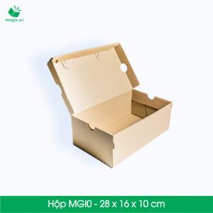 MGI0 - Hộp giày Size 28x16x10 cm- Hộp Carton đóng gói gửi hàng thu hộ COD