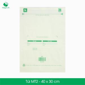 MT2-40x30 cm-Túi nilon đóng gói giao hàng chuyển phát nhanh COD