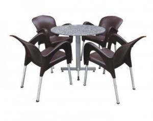 Thanh lý bàn ghế cafe  tiếp sản xuất ra bàn ghế nhựa giả mây dành cho các quán café