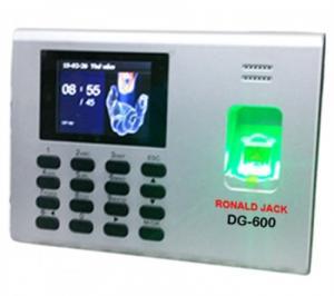 Máy kiểm soát cửa và chấm công vân tay thẻ DG600