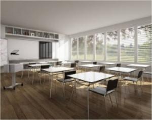 Sàn vinyl, sàn nhà đa năng trường học, trường mầm non