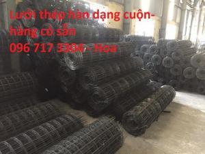 Lưới thép hàn chập - lưới thép đổ sàn bê tông