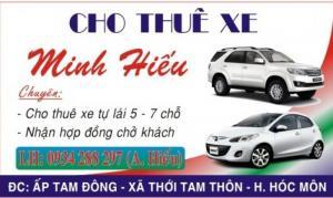 Cho thuê xe ô tô 5 - 7 chỗ giá rẻ nhất Sài Gòn