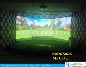 Tư vấn và thiết kế thi công phòng golf mini