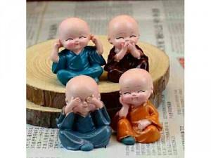 Bộ tượng 4 chú tiểu
