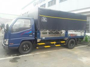 Xe tải Hyundai 2,4 tấn Đô Thành vào thành phố, tặng bảo hiểm thân xe, xe có sẵn giao ngay