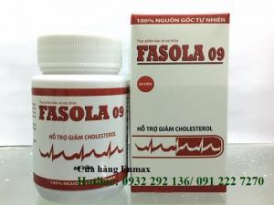 Fasola 09 -hỗ trợ điều trị giảm cholesterol máu xấu, hạ huyết áp
