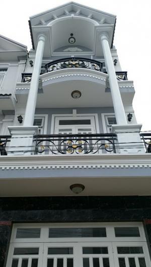 Bán nhà 3 tầng DT 4x 14m hẻm 1806 Huỳnh Tấn Phát Nhà Bè
