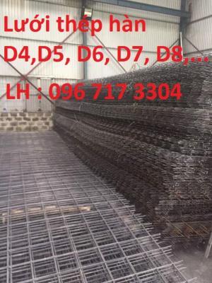 Lưới thép hàn D4 a150*150 giá tốt nhất - hàng có sẵn