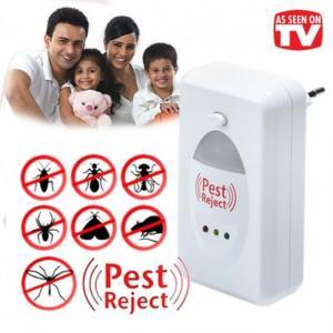 Máy đuổi côn trùng Pest Reject bằng sóng âm hiệu quả,máy đuổi chuột,ruồi,muỗi cho gia đình,nhà kho