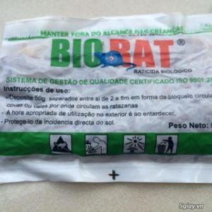 Thuốc Diệt Chuột Vi Sinh Biorat 1kg-20 Gói
