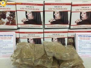 Sản phẩm hỗ trợ giảm gàu và nấm da đầu