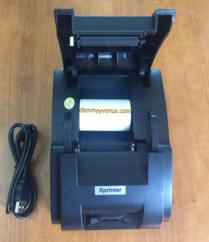 Máy in hóa đơn bán hàng Xprinter XP-58IIH khổ 57mm giá tốt