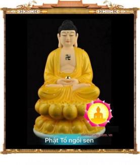 Tượng Phật Tổ Ngồi Sen