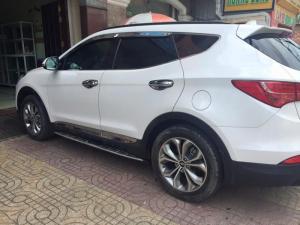 Cần bán xe Huyndai Santafe 2.4at 2015 đăng ký 2016 màu trắng