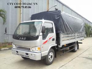 Xe tải JAC 4.99 tấn thùng 5m3 chuyên chở tốt