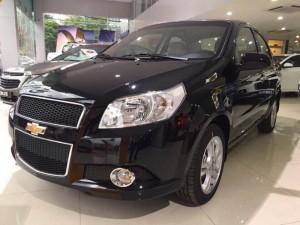 Giá xe Chevrolet Aveo màu đen 2017 tháng 11/2017. Thủ tục minh bạch