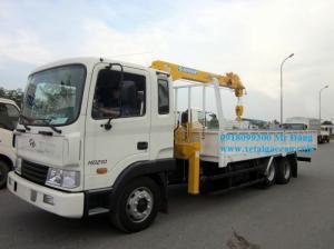 Bán Xe Tải Hyundai Hd210 Gắn Cẩu 5 Tấn Soosan Scs513