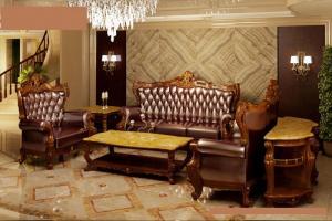 Bàn ghế sofa tân cổ điển - sofa gỗ cổ điển cao cấp Cần Thơ Bạc Liêu