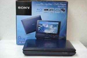 Máy đọc đĩa kèm màn hình Sony SX910 Portable Blu-ray Player