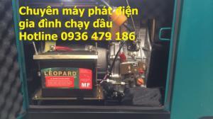 Chuyên máy phát điện chạy dầu 5kw,7kw,8kw,10kw siêu cách âm,tiết kiệm dầu