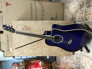 Đàn guitar Eko Ranger Blue Sunburt nhập khẩu chính hãng của Italia