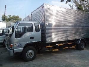 Xe tải JAC 8 tấn, động cơ FAW, thùng dài 7.2m.