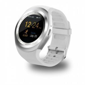 Đồng hồ thông minh smart watch giá rẻ gắn sim thẻ nhớ Trắng