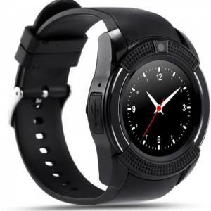 Đồng hồ thông minh sim độc lập V8 Smartwatch Đen
