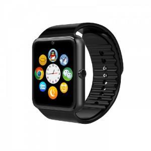 Đồng hồ thông minh WiFi sim độc lập QW08 smartwatch tiếng Việt Đen