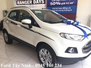 Mua Ford Ecosport Trend, số sàn tại Ford Tây Ninh