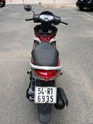Air Blade Hàn Quốc Đỏ  Bạc mẫu Thailan 2 Đèn Giống Honda Air Blade 99%