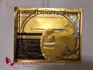 Mặt nạ tinh thể collagen vàng 4in1